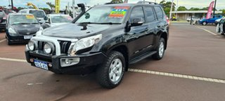 2014 Toyota Landcruiser Prado KDJ150R MY14 GXL Black 5 Speed Sports Automatic Wagon