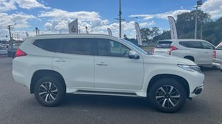 2019 Mitsubishi Pajero Sport QE MY19 GLS White Solid 8 Speed Sports Automatic Wagon.