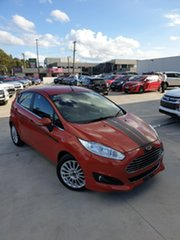 2014 Ford Fiesta WZ MY15 Sport Orange 5 Speed Manual Hatchback.