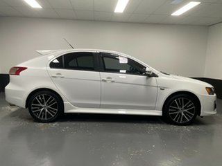 2017 Mitsubishi Lancer CF MY17 GSR Sportback White 5 Speed Manual Hatchback