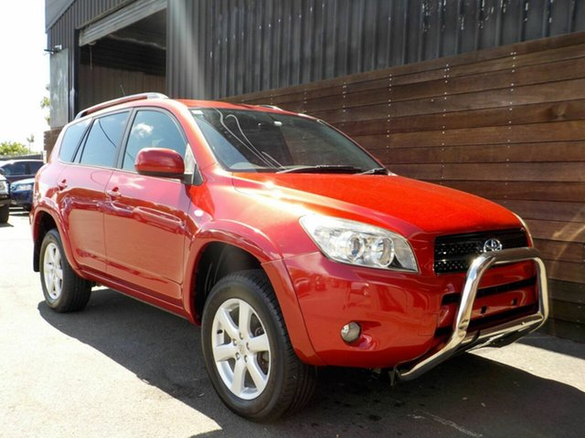 Used Toyota RAV4 ACA33R Cruiser Labrador, 2007 Toyota RAV4 ACA33R Cruiser Red 5 Speed Manual Wagon