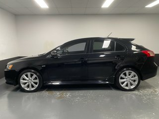 2015 Mitsubishi Lancer CF MY16 GSR Sportback Black 5 Speed Manual Hatchback