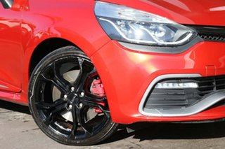 2014 Renault Clio IV B98 R.S. 200 EDC Sport Trophy Red 6 Speed Sports Automatic Dual Clutch