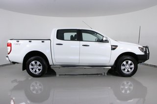 2014 Ford Ranger PX XLS 3.2 (4x4) White 6 Speed Manual Double Cab Pick Up