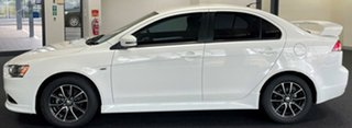 2015 Mitsubishi Lancer CF MY16 ES Sport White 6 Speed Constant Variable Sedan