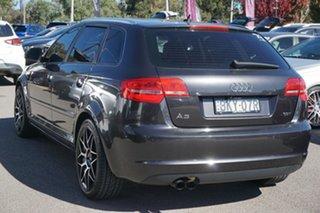 2009 Audi A3 8P MY09 TFSI Sportback S Tronic Ambition Grey 7 Speed Sports Automatic Dual Clutch