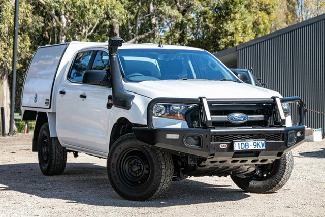 Used Ford Ranger PX MkII XL Mornington, 2016 Ford Ranger PX MkII XL White 6 Speed Manual Cab Chassis