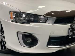2017 Mitsubishi Lancer CF MY17 GSR Sportback White 5 Speed Manual Hatchback.