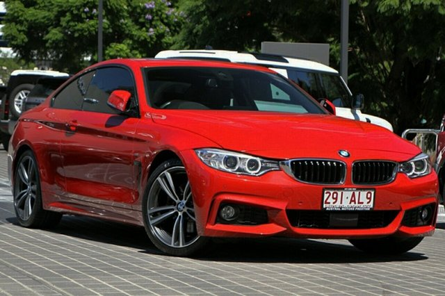Used BMW 4 Series F32 430i M Sport Newstead, 2016 BMW 4 Series F32 430i M Sport Red 8 Speed Sports Automatic Coupe