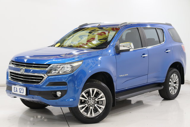 Used Holden Trailblazer RG MY18 LTZ Brooklyn, 2018 Holden Trailblazer RG MY18 LTZ Blue 6 Speed Sports Automatic Wagon