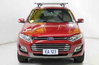 2015 Ford Territory SZ MkII TS Seq Sport Shift Red/Black 6 Speed Sports Automatic Wagon.