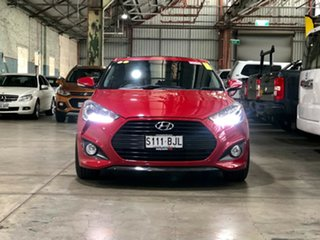 2013 Hyundai Veloster FS2 SR Coupe Turbo Red 6 Speed Sports Automatic Hatchback.