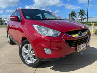 2011 Hyundai ix35 LM MY12 Elite AWD Red/301118 6 Speed Sports Automatic Wagon.