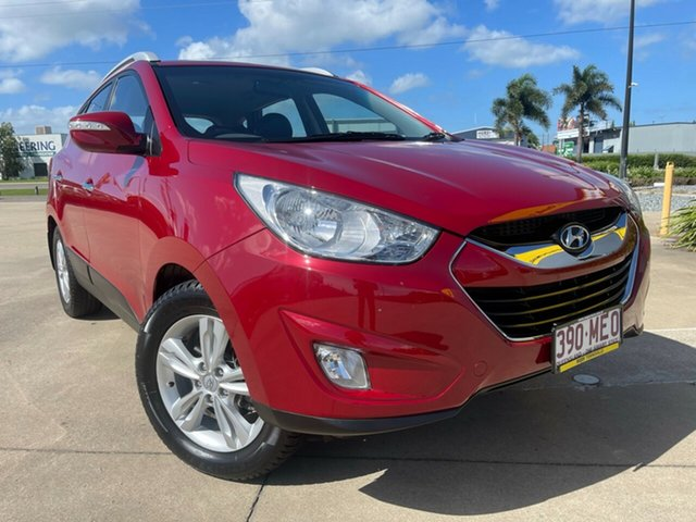Used Hyundai ix35 LM MY12 Elite AWD Townsville, 2011 Hyundai ix35 LM MY12 Elite AWD Red/301118 6 Speed Sports Automatic Wagon
