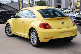 2013 Volkswagen Beetle 1L MY14 Coupe DSG Saturn Yellow 7 Speed Sports Automatic Dual Clutch Liftback.
