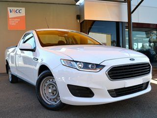 2016 Ford Falcon FG X Ute Super Cab White 6 Speed Sports Automatic Utility.