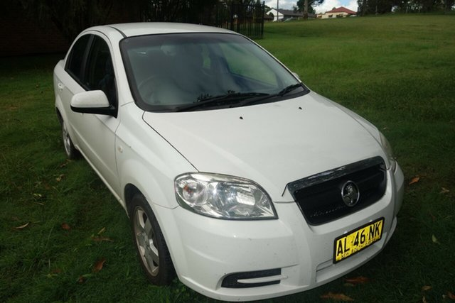 Used Holden Barina TK East Maitland, 2006 Holden Barina TK White 4 Speed Automatic Sedan