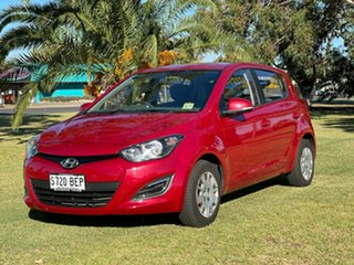 2014 Hyundai i20 PB MY14 Active Red Passion 4 Speed Automatic Hatchback.