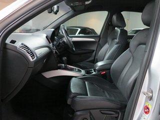 2011 Audi Q5 8R MY11 TFSI S Tronic Quattro Silver 7 Speed Sports Automatic Dual Clutch Wagon
