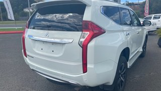 2019 Mitsubishi Pajero Sport QE MY19 GLS White Solid 8 Speed Sports Automatic Wagon