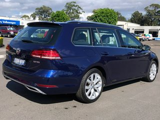 2017 Volkswagen Golf 7.5 MY18 110TDI DSG Highline Blue 7 Speed Sports Automatic Dual Clutch Wagon