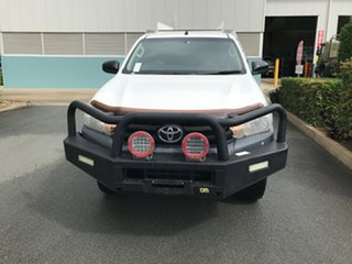 2017 Toyota Hilux GUN125R Workmate Glacier 6 speed Automatic Cab Chassis.