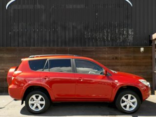 2007 Toyota RAV4 ACA33R Cruiser Red 5 Speed Manual Wagon.