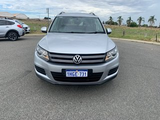 2014 Volkswagen Tiguan 5NC MY14 155 TSI (4x4) Silver 7 Speed Auto Direct Shift Wagon.