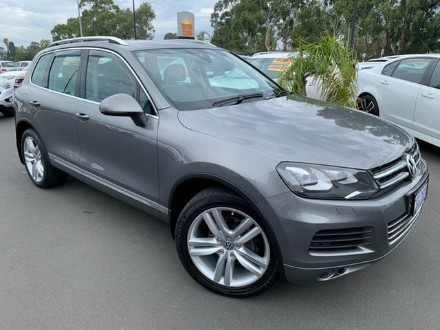Used Volkswagen Touareg 7P MY13 V6 TDI Tiptronic 4MOTION Bunbury, 2013 Volkswagen Touareg 7P MY13 V6 TDI Tiptronic 4MOTION 8 Speed Sports Automatic Wagon