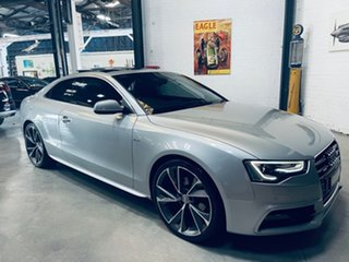 2014 Audi A5 8T MY14 S Tronic Quattro Silver 7 Speed Sports Automatic Dual Clutch Coupe