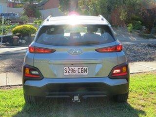 2019 Hyundai Kona OS.2 MY19 Active 2WD Lake Silver/dark Gre 6 Speed Sports Automatic Wagon