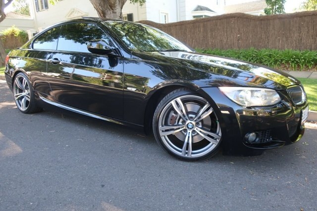 Used BMW 3 Series E92 MY0911 335i D-CT M Sport Prospect, 2011 BMW 3 Series E92 MY0911 335i D-CT M Sport Black 7 Speed Sports Automatic Dual Clutch Coupe