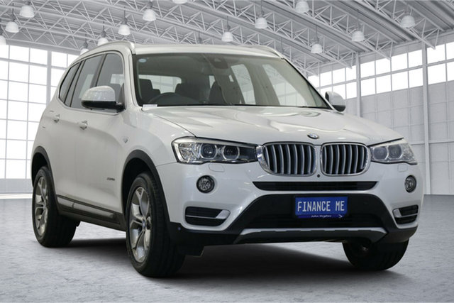 Used BMW X3 G01 xDrive20d Steptronic Victoria Park, 2018 BMW X3 G01 xDrive20d Steptronic White 8 Speed Automatic Wagon