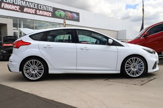 2017 Ford Focus LZ RS AWD Frozen White 6 Speed Manual Hatchback.