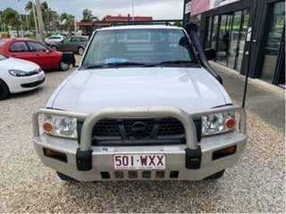2002 Nissan Navara D22 STD (4x4) White 5 Speed Manual 4x4 Cab Chassis.