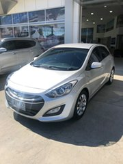 2013 Hyundai i30 GD2 Active Sleek Silver 6 Speed Sports Automatic Hatchback.