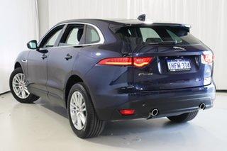 2017 Jaguar F-PACE X761 MY18 Portfolio Blue 8 Speed Sports Automatic Wagon.