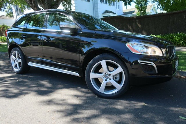Used Volvo XC60 DZ MY12 D5 Geartronic AWD R-Design Prospect, 2012 Volvo XC60 DZ MY12 D5 Geartronic AWD R-Design Black 6 Speed Sports Automatic Wagon