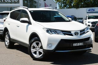 2014 Toyota RAV4 ZSA42R MY14 GXL 2WD White 7 Speed Constant Variable Wagon.