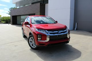 2020 Mitsubishi ASX XD MY21 ES 2WD Red Diamond 1 Speed Constant Variable Wagon.