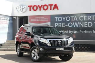 2017 Toyota Landcruiser Prado GDJ150R GXL Ebony 6 Speed Automatic Wagon.
