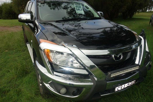 Used Mazda BT-50 UP0YF1 XTR East Maitland, 2014 Mazda BT-50 UP0YF1 XTR Black 6 Speed Manual Utility
