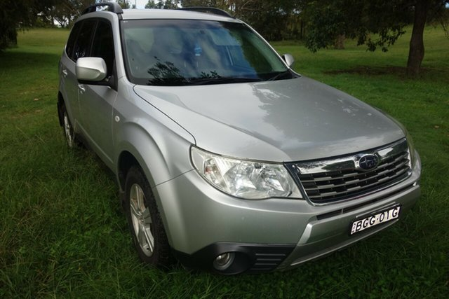 Used Subaru Forester S3 MY09 XS AWD East Maitland, 2008 Subaru Forester S3 MY09 XS AWD Silver 4 Speed Sports Automatic Wagon