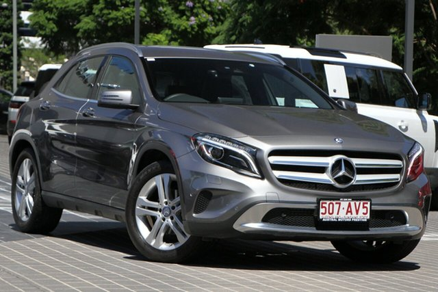 Used Mercedes-Benz GLA-Class X156 807MY GLA220 d DCT Newstead, 2016 Mercedes-Benz GLA-Class X156 807MY GLA220 d DCT Grey 7 Speed Sports Automatic Dual Clutch Wagon