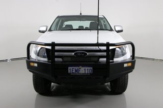 2014 Ford Ranger PX XLS 3.2 (4x4) White 6 Speed Manual Double Cab Pick Up.