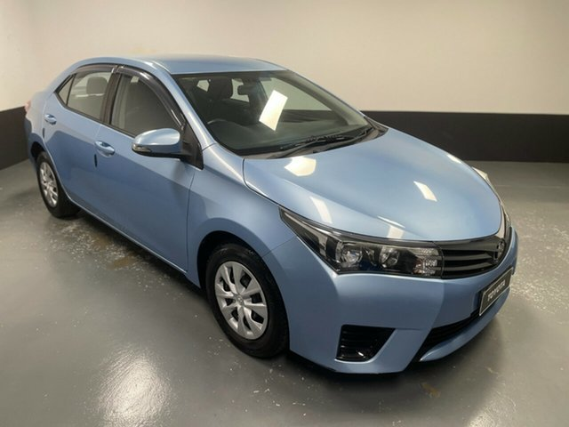 Used Toyota Corolla ZRE172R Ascent S-CVT Hamilton, 2014 Toyota Corolla ZRE172R Ascent S-CVT Blue 7 Speed Constant Variable Sedan