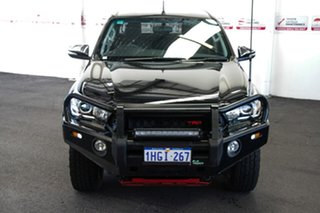 2017 Toyota Hilux GUN126R TRD Black (4x4) Eclipse Black 6 Speed Manual Dual Cab Utility.