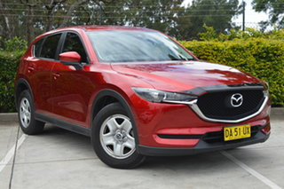 2017 Mazda CX-5 KF2W7A Maxx SKYACTIV-Drive FWD Red 6 Speed Sports Automatic Wagon.