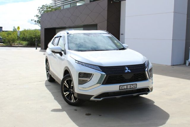 Demo Mitsubishi Eclipse Cross YB MY21 LS 2WD Tuggerah, 2020 Mitsubishi Eclipse Cross YB MY21 LS 2WD White 8 Speed Constant Variable Wagon