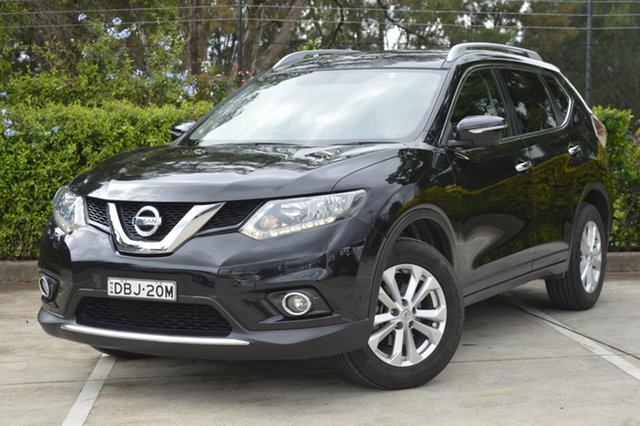 Used Nissan X-Trail T32 ST-L X-tronic 2WD Maitland, 2015 Nissan X-Trail T32 ST-L X-tronic 2WD Black 7 Speed Constant Variable Wagon